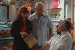 Susan Kennedy, Lou Carpenter, Harold Bishop in Neighbours Episode 3972