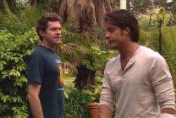 Evan Hancock, Drew Kirk in Neighbours Episode 3975
