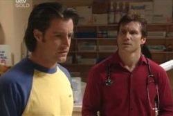 Drew Kirk, Darcy Tyler in Neighbours Episode 3976