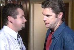 Toadie Rebecchi, Evan Hancock in Neighbours Episode 3976