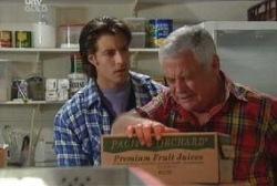 Drew Kirk, Lou Carpenter in Neighbours Episode 3976