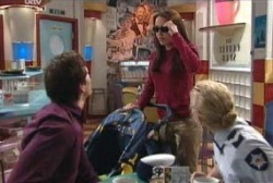 Darcy Tyler, Libby Kennedy, Terri Hall in Neighbours Episode 3976