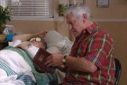 Harold Bishop, Lou Carpenter in Neighbours Episode 3976