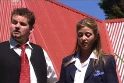 Toadie Rebecchi, Felicity Scully in Neighbours Episode 3977