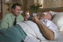 Harold Bishop, Karl Kennedy in Neighbours Episode 3978