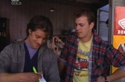Drew Kirk, Stuart Parker in Neighbours Episode 3980