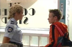Terri Hall, Leo Hancock in Neighbours Episode 3980