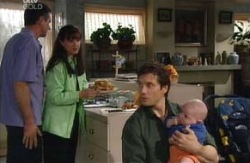 Karl Kennedy, Susan Kennedy, Darcy Tyler, Ben Kirk in Neighbours Episode 3980