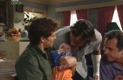 Darcy Tyler, Ben Kirk, Drew Kirk, Karl Kennedy in Neighbours Episode 3980