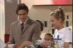 Marc Lambert, Felicity Scully in Neighbours Episode 3983