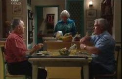 Harold Bishop, Rosie Hoyland, Lou Carpenter in Neighbours Episode 3983