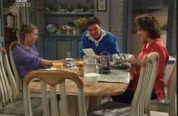 Michelle Scully, Joe Scully, Lyn Scully in Neighbours Episode 3984
