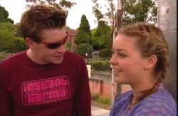 Tad Reeves, Michelle Scully in Neighbours Episode 3984