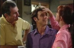 Karl Kennedy, Malcolm Kennedy, Susan Kennedy in Neighbours Episode 3985
