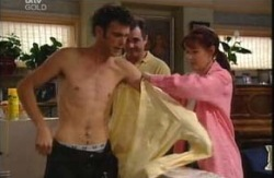 Malcolm Kennedy, Karl Kennedy, Susan Kennedy in Neighbours Episode 3985