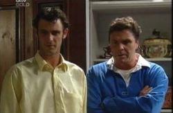 Malcolm Kennedy, Joe Scully  in Neighbours Episode 3986