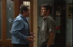 Toadie Rebecchi, Malcolm Kennedy in Neighbours Episode 3987