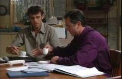 Malcolm Kennedy, Karl Kennedy in Neighbours Episode 3987