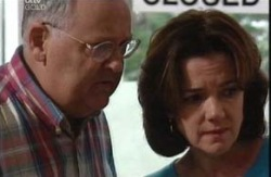 Harold Bishop, Lyn Scully in Neighbours Episode 3987