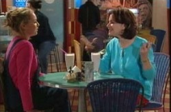 Michelle Scully, Lyn Scully in Neighbours Episode 3987
