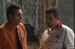 Toadie Rebecchi, Karl Kennedy in Neighbours Episode 3987