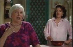 Lyn Scully, Rosie Hoyland in Neighbours Episode 3988