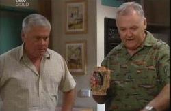 Lou Carpenter, Harold Bishop in Neighbours Episode 3991