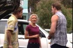 Damian Slattery, Terri Hall, Stuart Parker in Neighbours Episode 3991