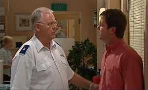 Harold Bishop, David Bishop in Neighbours Episode 4766