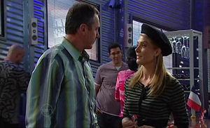 Karl Kennedy, Izzy Hoyland in Neighbours Episode 4768