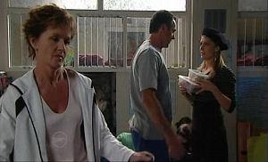 Susan Kennedy, Karl Kennedy, Izzy Hoyland in Neighbours Episode 4768
