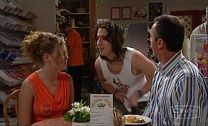 Janae Timmins, Dylan Timmins, Karl Kennedy in Neighbours Episode 4769