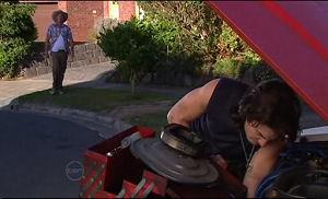 Joe Mangel, Dylan Timmins in Neighbours Episode 4774