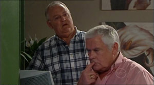 Harold Bishop, Lou Carpenter in Neighbours Episode 4940