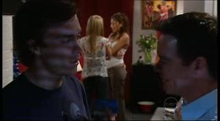 Robert Robinson, Izzy Hoyland, Katya Kinski, Paul Robinson in Neighbours Episode 4948