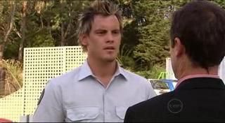 Ned Parker, Paul Robinson in Neighbours Episode 4948