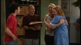 Stingray Timmins, Kim Timmins, Janelle Timmins, Bree Timmins in Neighbours Episode 4949
