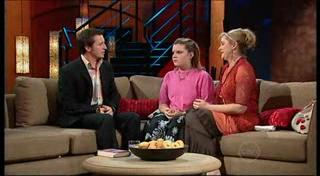 Rove McManus, Bree Timmins, Janelle Timmins in Neighbours Episode 4949