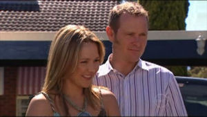 Max Hoyland, Steph Scully in Neighbours Episode 4951