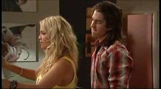Dylan Timmins, Sky Mangel in Neighbours Episode 4954