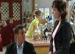 Paul Robinson, Lyn Scully, Elle Robinson in Neighbours Episode 4956
