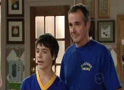 Karl Kennedy, Zeke Kinski in Neighbours Episode 4960
