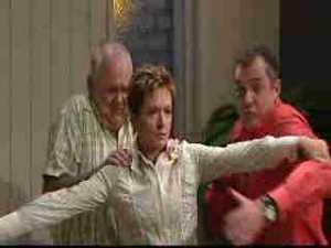 Harold Bishop, Karl Kennedy, Susan Kennedy in Neighbours Episode 4969