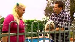 "Genevieve ""Eva"" Doyle, Bob, Toadie Rebecchi in Neighbours Episode 4689"