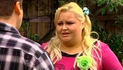 "Toadie Rebecchi, Genevieve ""Eva"" Doyle in Neighbours Episode 4689"