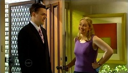 Andy Tanner, Janelle Timmins in Neighbours Episode 4690
