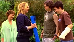 Susan Kennedy, Janelle Timmins, Dylan Timmins, Stingray Timmins in Neighbours Episode 4690