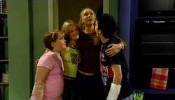 Bree Timmins, Janae Timmins, Janelle Timmins, Stingray Timmins in Neighbours Episode 4692