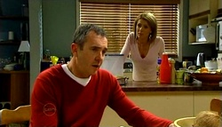 Karl Kennedy, Izzy Hoyland in Neighbours Episode 4692
