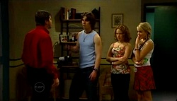 David Bishop, Dylan Timmins, Serena Bishop, Sky Mangel in Neighbours Episode 4693